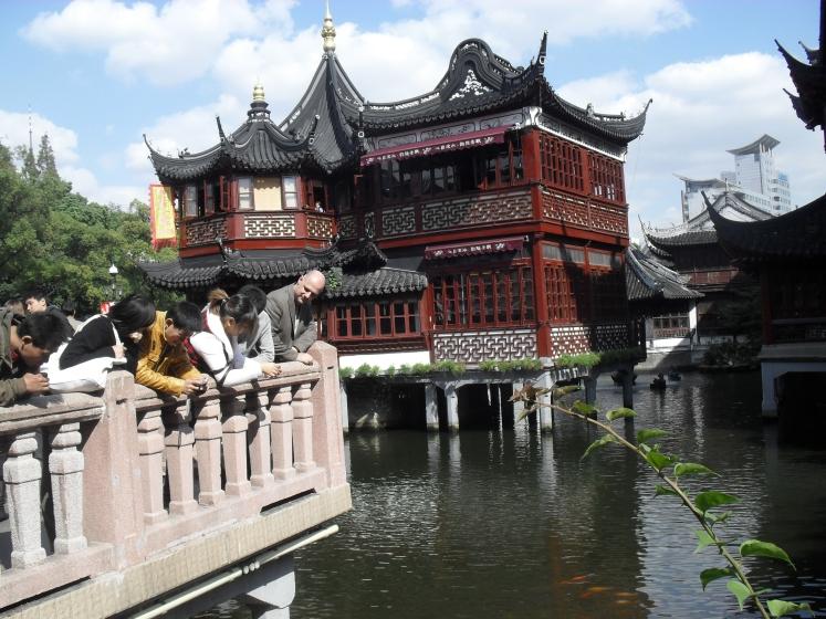 at Yu Yuan garden