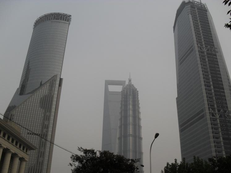 Shanghai World Financial and Jin Mao Towers