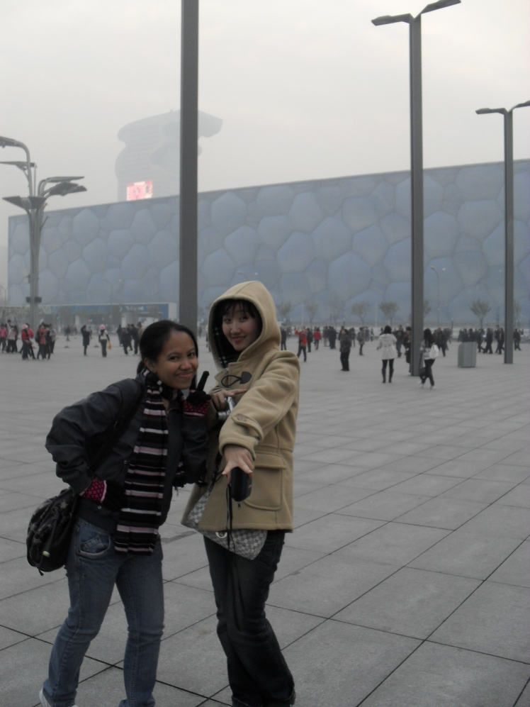 yup! that the Beijing National Aquatics Center.
