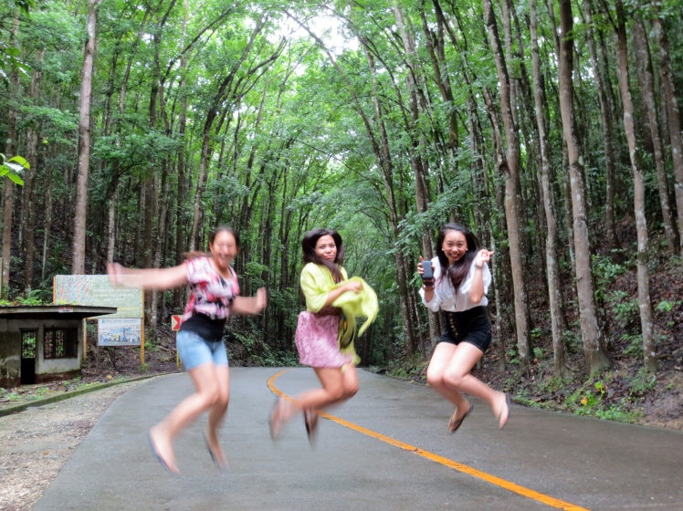 yes, we do love jump shots. haha. .